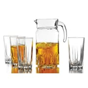 Style Setter 5-Piece Beverage with Pitcher Set
