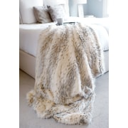 FABULOUS-FURS Limited Edition Series Throw Blanket; 72'' L x 60'' W