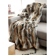 FABULOUS-FURS Limited Edition Series Throw Blanket; 86'' L x 60'' W