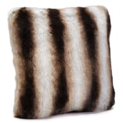 FABULOUS-FURS Limited Edition Series Throw Pillow; 18'' H x 18'' W x 6'' D