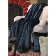 FABULOUS-FURS Couture Throw Blanket; 60'' L x 60'' W