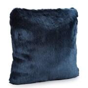 FABULOUS-FURS Couture Throw Pillow; 18'' H x 18'' W x 3'' D