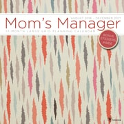 "2017 TF Publishing 12"" x 12"" Mom's Mojave Manager  Wall Calendar 17 Month (17-1022)"
