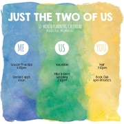 "2017 TF Publishing 12"" x 12"" Just the Two of Us Wall Calendar  17 Month (17-1061)"