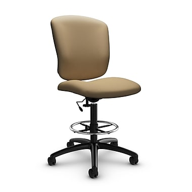 Global® (5339-6 IM71) Supra-X Drafting Task Chair, Imprint Cork Fabric, Tan