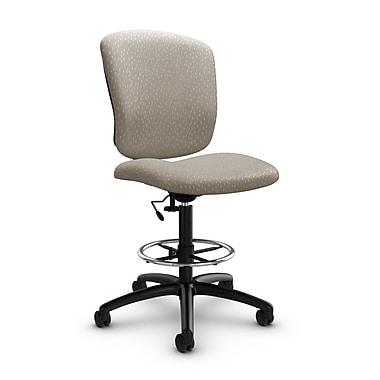 Global® (5339-6 MT20) Supra-X Drafting Task Chairs, Match Desert Fabric, Tan