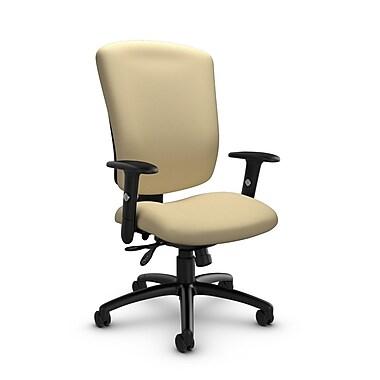 Global® (5333-3 IM70) Supra-X Multi Tilter Chair, Imprint Almond Fabric, Tan