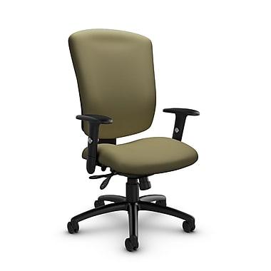 GlobalMD – Chaise multi-basculant Supra-X (5333-3 IM79), tissu imprimé origan, vert