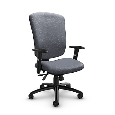 Global® (5333-3 MT30) Supra-X Multi Tilter Chair, Match Grey Fabric, Grey