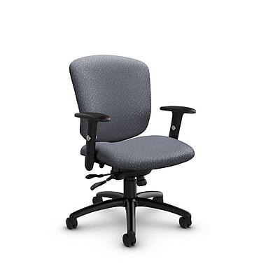 Global® (5336-1 MT30) Supra-X Synchro Tilter Chair, Match Grey Fabric, Grey