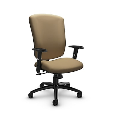 Global® (5333-4 IM71) Supra-X Tilter Chair, Imprint Cork Fabric, Tan