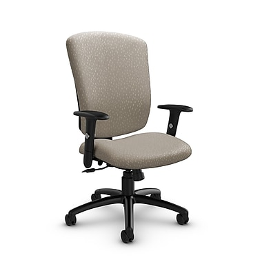 Global® (5333-4 MT20) Supra-X Tilter Chairs, Match Desert Fabric, Tan
