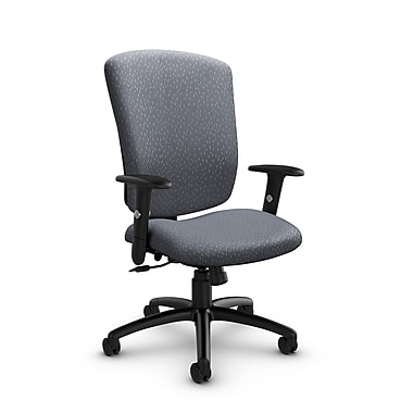 Global® (5333-4 MT30) Supra-X Tilter Chair, Match Grey Fabric, Grey