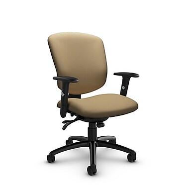 Global® (5336-3 IM71) Supra-X Multi Tilter Chair, Imprint Cork Fabric, Tan