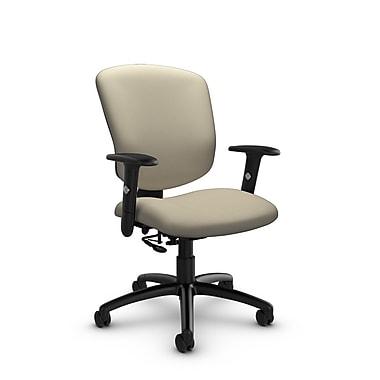 Global® (5336-7 IM72) Supra-X Posture Chair, Imprint Sand Fabric, Tan