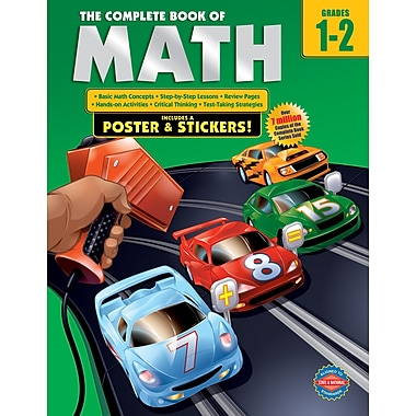 eBook: American Education Publishing 0769685609-EB The Complete Book of Math, Grade 1 - 2