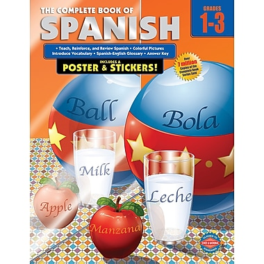 eBook: American Education Publishing 0769685641-EB The Complete Book of Spanish, Grade 1 - 3