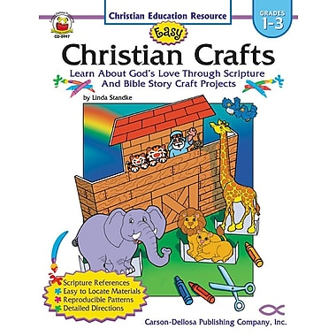 eBook: Christian 0997-EB Easy Christian Crafts, Grade 1 - 3