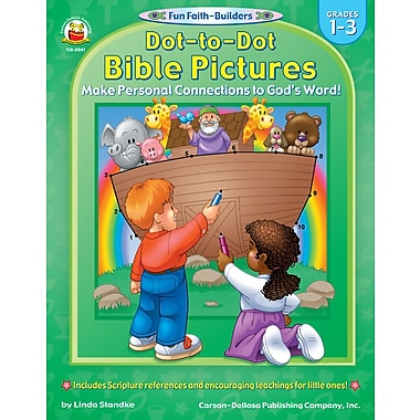 eBook: Christian 2041-EB Dot-to-Dot Bible Pictures, Grade 1 - 3