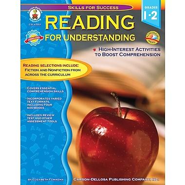 Livre numérique : Carson-Dellosa� -- Reading for Understanding 4302-EB, 1re et 2e année