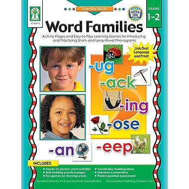 eBook: Key Education 804042-EB Word Families, Grade 1 - 2