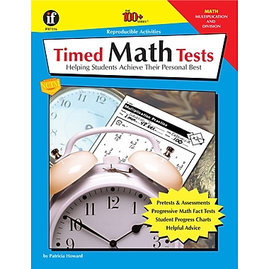 eBook: Instructional Fair 0742402274-EB Timed Math Tests, Multiplication and Division, Grade 2 - 5