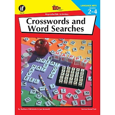 eBook: Instructional Fair 0880128232-EB Crosswords and Word searches, Grade 2 - 4