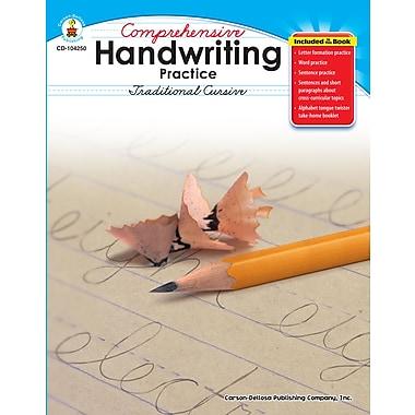 eBook: Carson-Dellosa 104250-EB Comprehensive Handwriting Practice: Traditional Cursive, Grade 2 - 5