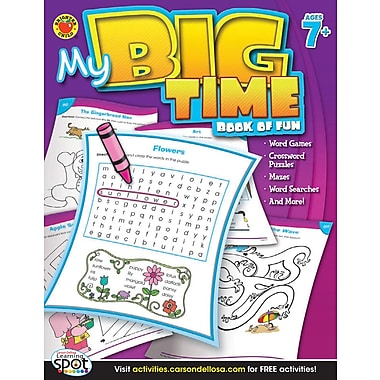 Livre numérique : Brighter Child� -- My Big Time Book of Fun 704218-EB, 2e à 5e année