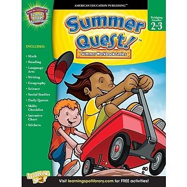 Livre numérique : American Education Publishing� -- Summer QuestMD 704357-EB, 2e à 3e année