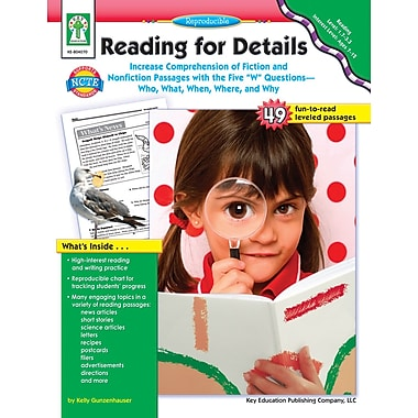 eBook: Key Education 804070-EB Reading for Details, Grade 2 - 7