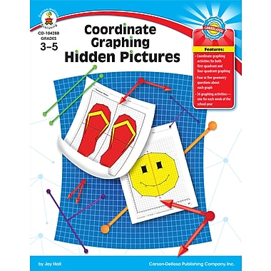 eBook: Carson-Dellosa 104288-EB Coordinate Graphing Hidden Pictures, Grade 3 - 5