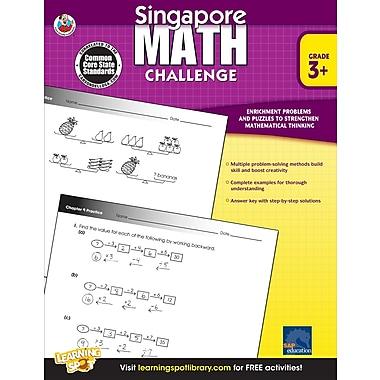 Livre numérique : Frank Schaffer� -- Singapore Math Challenge 704280-EB, 3e à 5e année