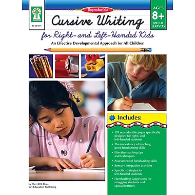 Livre numérique : Key Education� -- Cursive Writing for Right- & Left- Handed Kids 804073-EB, 3e à 7e année