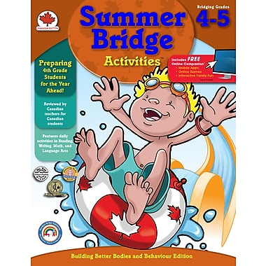 Livre numérique : Summer Bridge Activities 104512-EB Summer Bridge Activities, 4e à 5e année