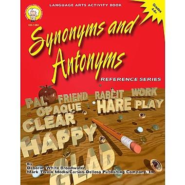 Livre numérique : Mark Twain 1382-EB Synonyms and Antonyms, 4e - 8e année