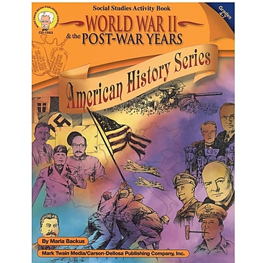 eBook: Mark Twain 1563-EB World War II & the Post-War Years, Grade 4 - 7
