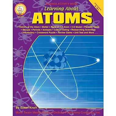 eBook: Mark Twain 1631-EB Learning About Atoms, Grade 4 - 8