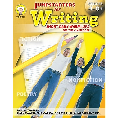 eBook: Mark Twain 404027-EB Jumpstarters for Writing, Grade 4 - 8