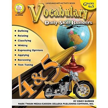 eBook: Mark Twain 404068-EB Vocabulary, Grade 4 - 5