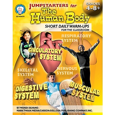Livre numérique: Mark Twain « Jumpstarters for the Human Body », 9 à 14 ans, 404079-EB