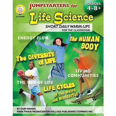 Livre numérique: Mark Twain « Jumpstarters for Life Science », 9 à 14 ans, 404092-EB