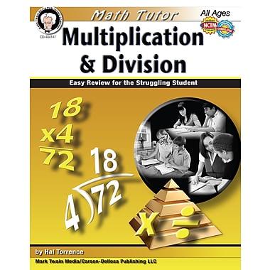 Livre numérique: Mark Twain « Math Tutor », 404147-EB: « Multiplication and Division », 9 à 14 ans
