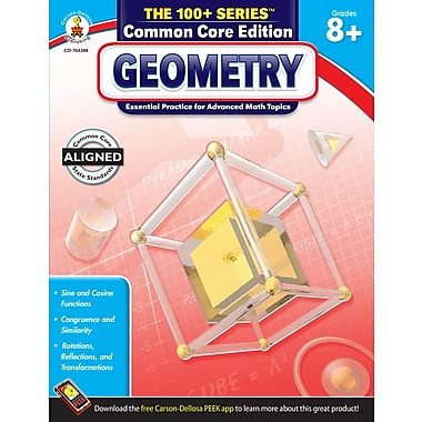 Livre numérique : Carson-Dellosa� -- Geometry 704388-EB, 7e à 9e année