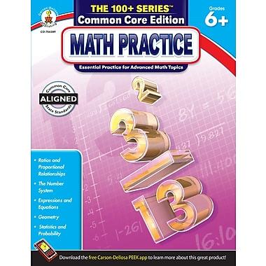 Livre numérique : Carson-Dellosa� -- Math Practice 704389-EB, 6e à 8e année