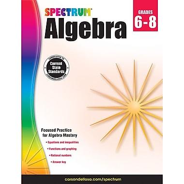 Livre numérique : Spectrum 704706-EB Spectrum Algebra, 6e à 8e année