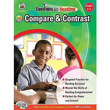 eBook: Frank Schaffer 104544-EB Compare & Contrast, Grade 5 - 6