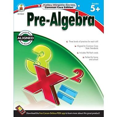 Livre numérique : Carson-Dellosa� -- Pre-Algebra 104631-EB, 5e à 12e année