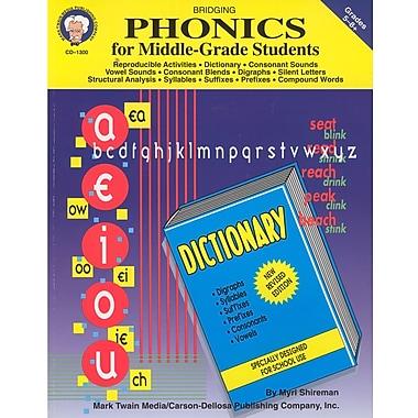 Livre numérique : Mark Twain 1300-EB Bridging Phonics for Middle-, Grade students, 5e - 8e année