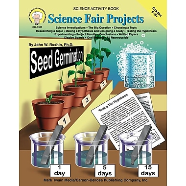 eBook: Mark Twain 1327-EB Science Fair Projects, Grade 5 - 8